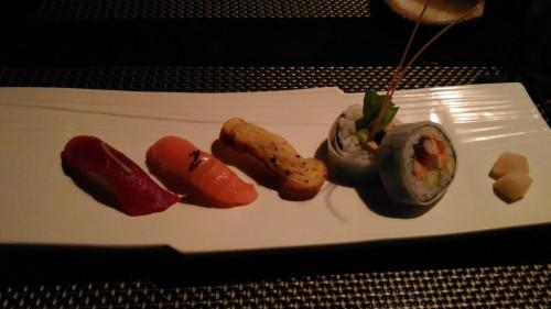 特選握り寿司とロール寿司,NINJA AKASAKA