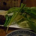 野菜と味噌