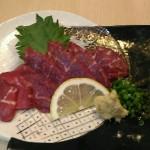 熊本の居酒屋 恵み家でおすすめの馬刺しをその味は?